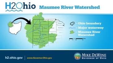 Maumee River Watershed map