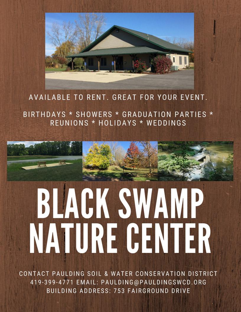 Black Swamp Nature Center Flyer