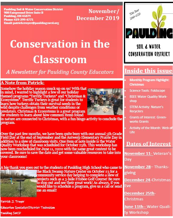 Conservation in the Classroom thumbnail